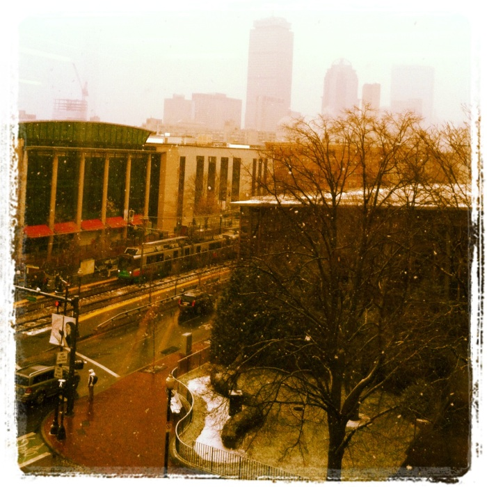 View from the library!